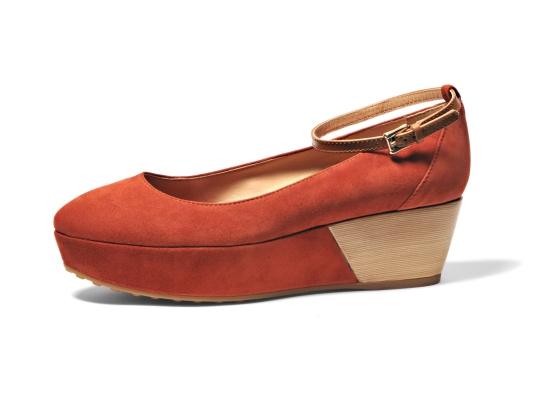 Tod's wedge ballerina 1