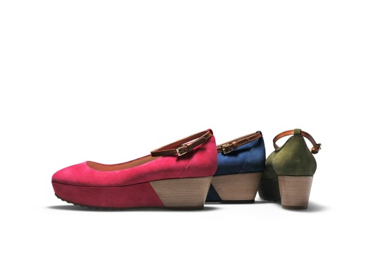 Tod's wedge ballerina