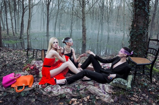 Christian Dior Secret Garden 2 Versailles photo Inez & Vinoosh women management new york city blog Daria Strokous 1