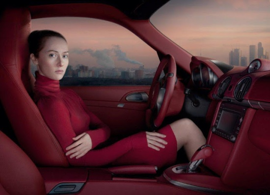 Katerina Belkina, Red Moscow, 100x130, photography, edition 9